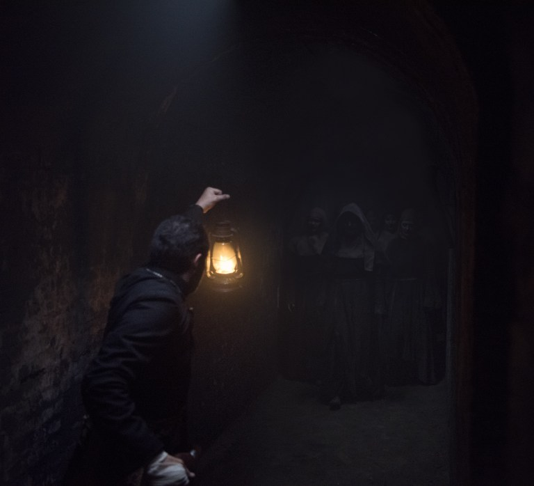 The Nun: una spaventosa immagine del film