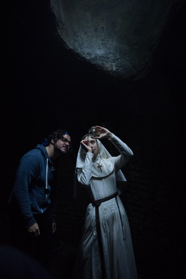 The Nun: una foto scattata sul set
