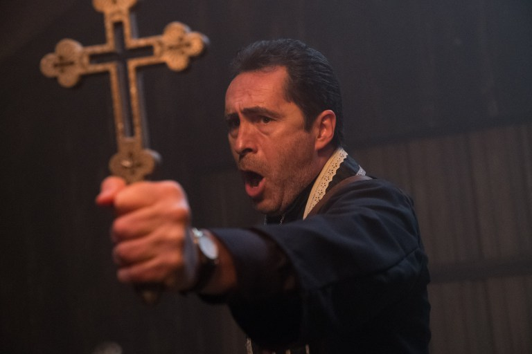The Nun: Demian Bichir in una foto del film