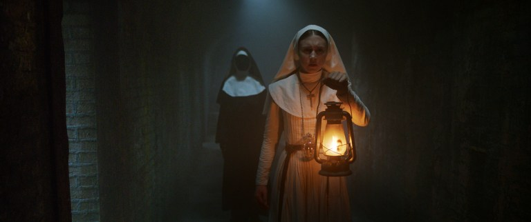 The Nun: una foto del film