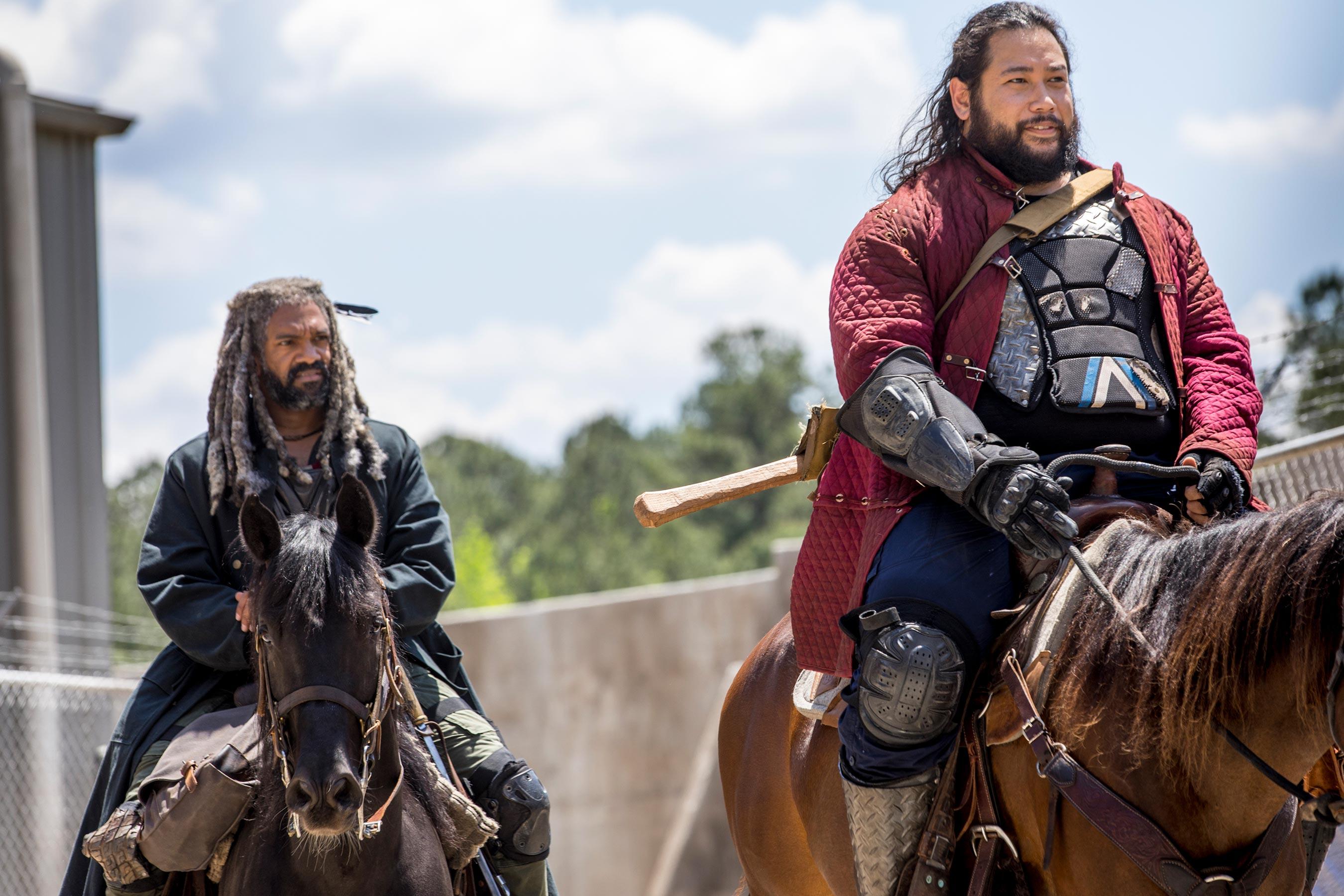 The Walking Dead: Cooper Andrews e Khary Payton