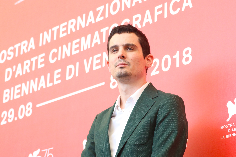 Venezia 2018: Damien Chazelle al photocall de Il primo uomo