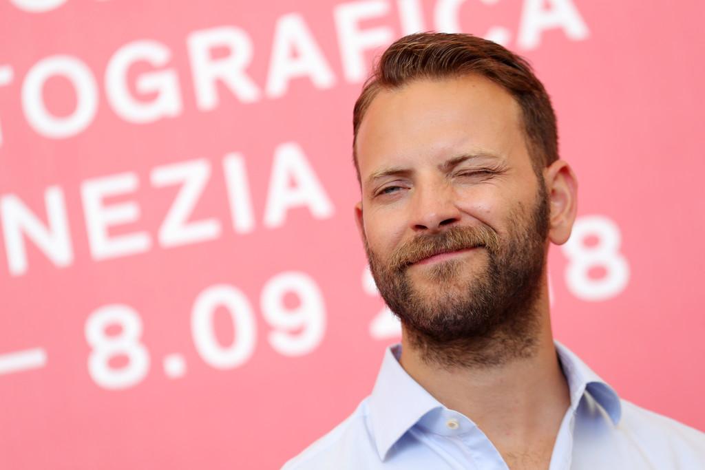 Venezia 2018: Alessandro Borghi durante il photocall per il film Sulla mia pelle