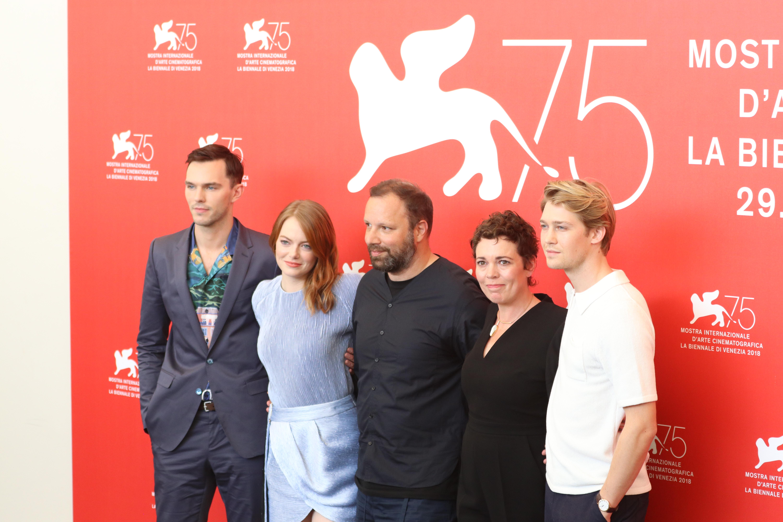Venezia 2018: il cast al photocall de La favorita