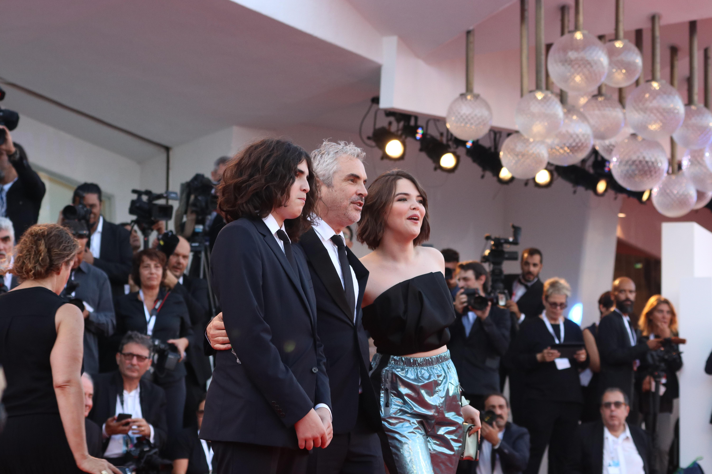 Venezia 2018: Alfonso Cuarón sul red carpet di Roma