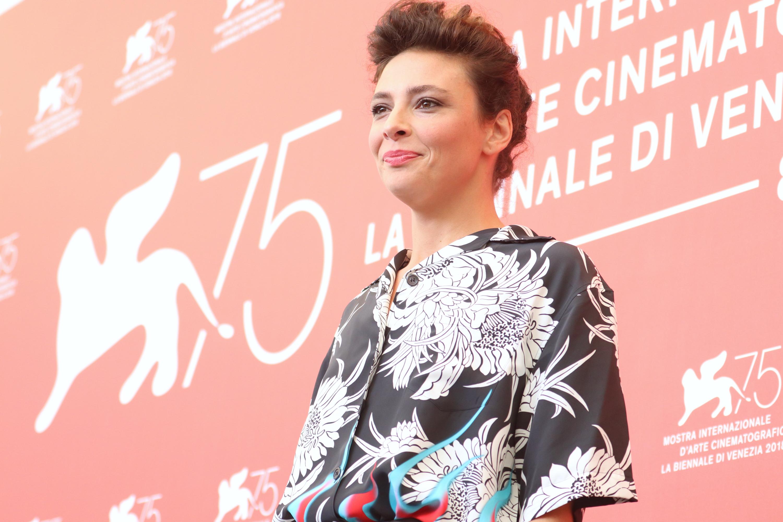 Venezia 2018: Jasmine Trinca al photocall di Sulla mia pelle