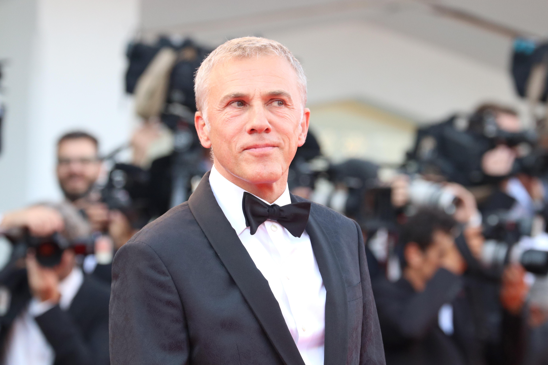 Venezia 2018: uno scatto di Christoph Waltz sul red carpet di apertura
