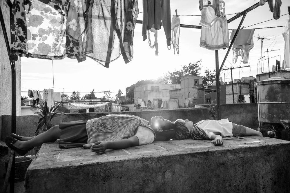 Roma: una suggestiva immagine del film