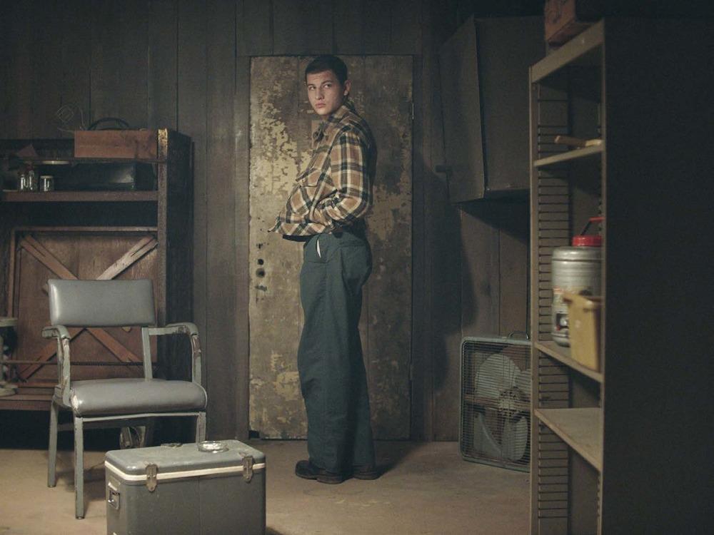 The Mountain: Tye Sheridan in una scena del film