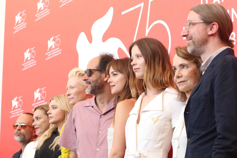 Venezia 2018: il cast al photocall di Suspiria