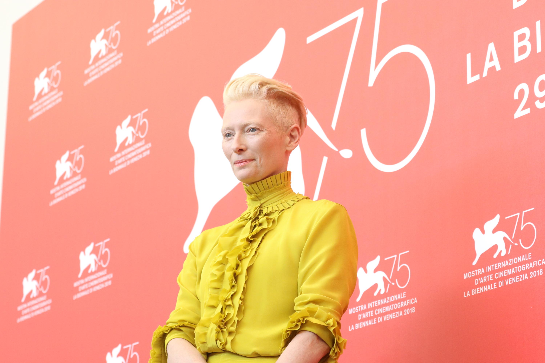 Venezia 2018: Tilda Swinton al photocall di Suspiria