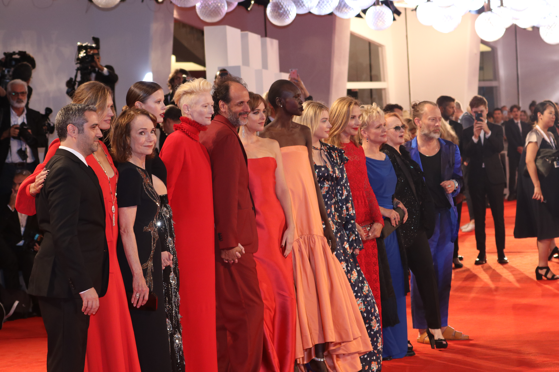 Venezia 2018: il cast sul red carpet di Suspiria