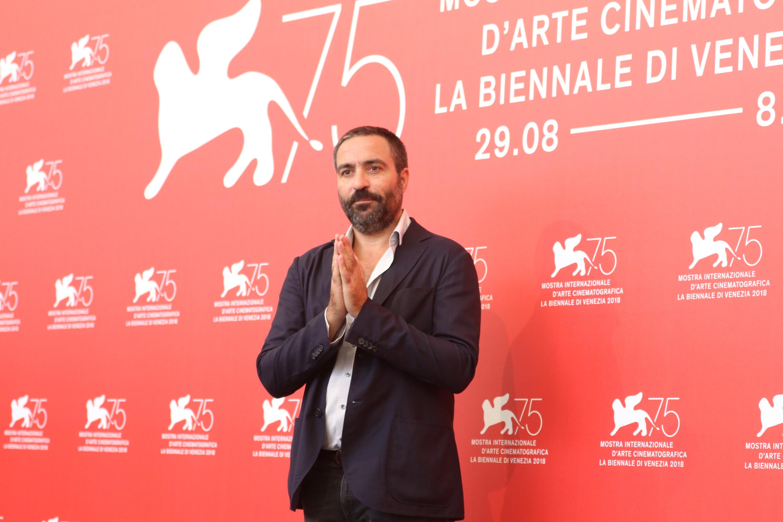 Venezia 2018: Saverio Costanzo al photocall de L'amica geniale