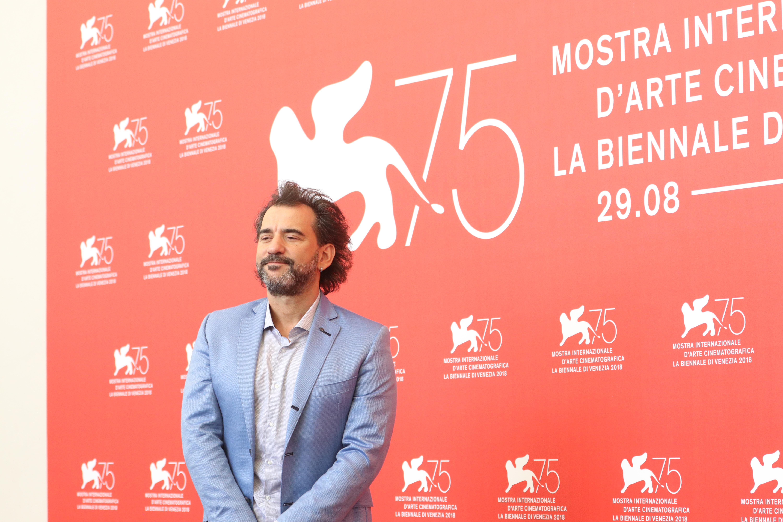 Venezia 2018: Pablo Trapero al photocall di La Quietud