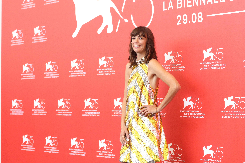 Venezia 2018: Bérénice Bejo al photocall di La Quietud