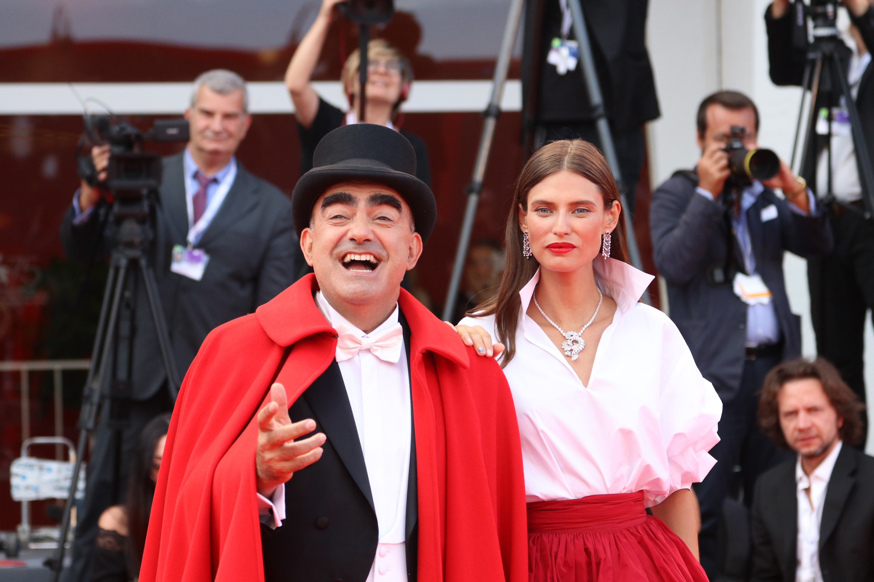 Venezia 2018: Elio e Bianca Balti sul red carpet di The Sisters Brothers