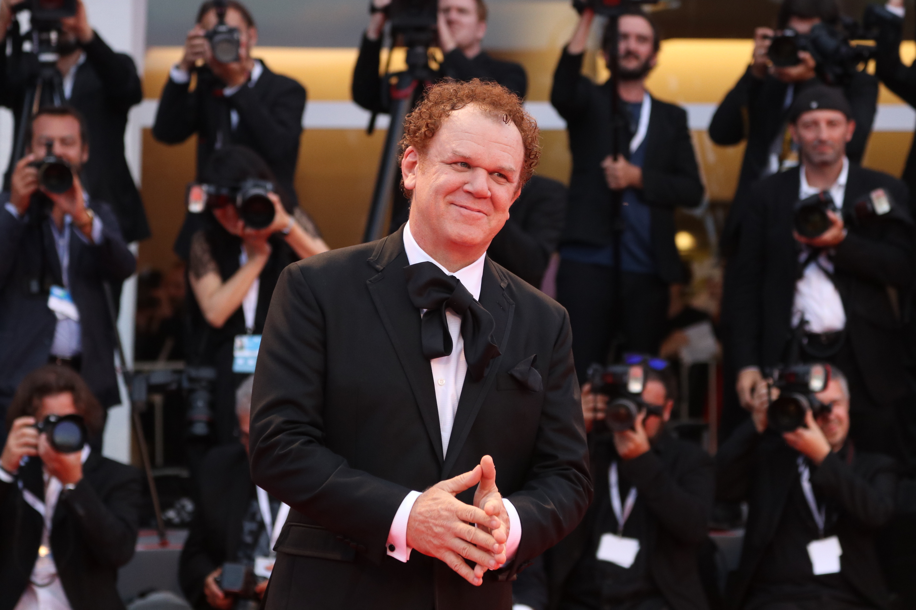 Venezia 2018: John C. Reilly sul red carpet di The Sisters Brothers