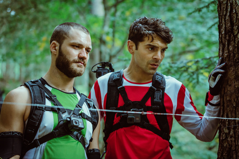 Ride: Lorenzo Richelmy e Ludovic Hughes in un'immagine tratta dal film
