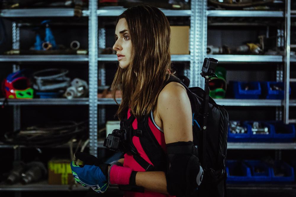 Ride: Simone Labarga in una scena del film