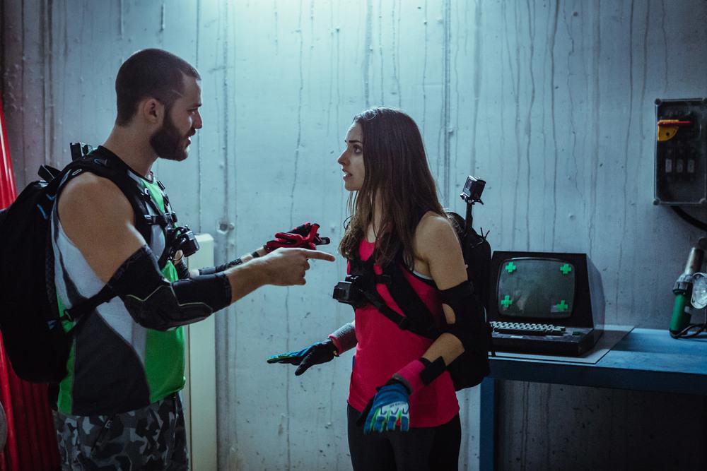 Ride: Simone Labarga e Lorenzo Richelmy in una scena del film