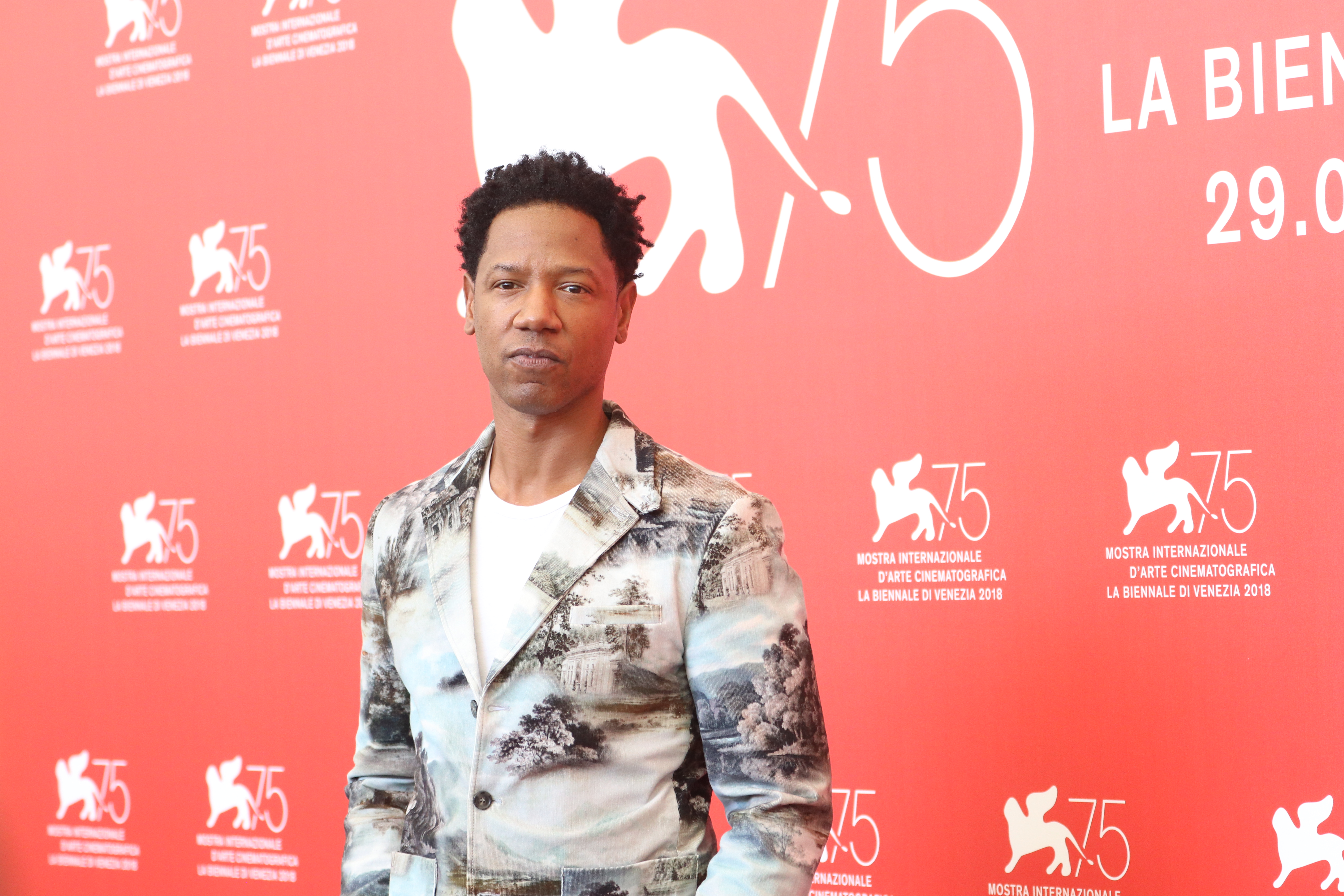 Venezia 2018: Tory Kittles al photocall di Dragged Across Concrete