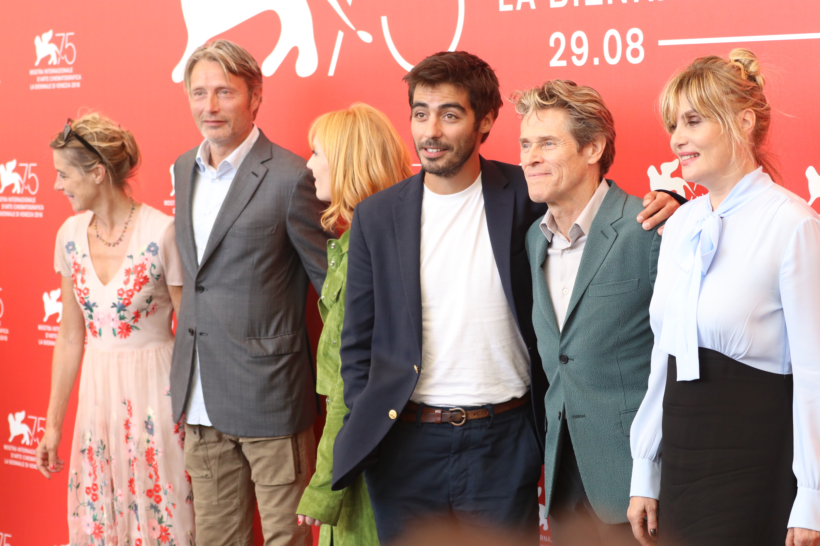 Venezia 2018:  il cast al photocall di At Eternity's Gate