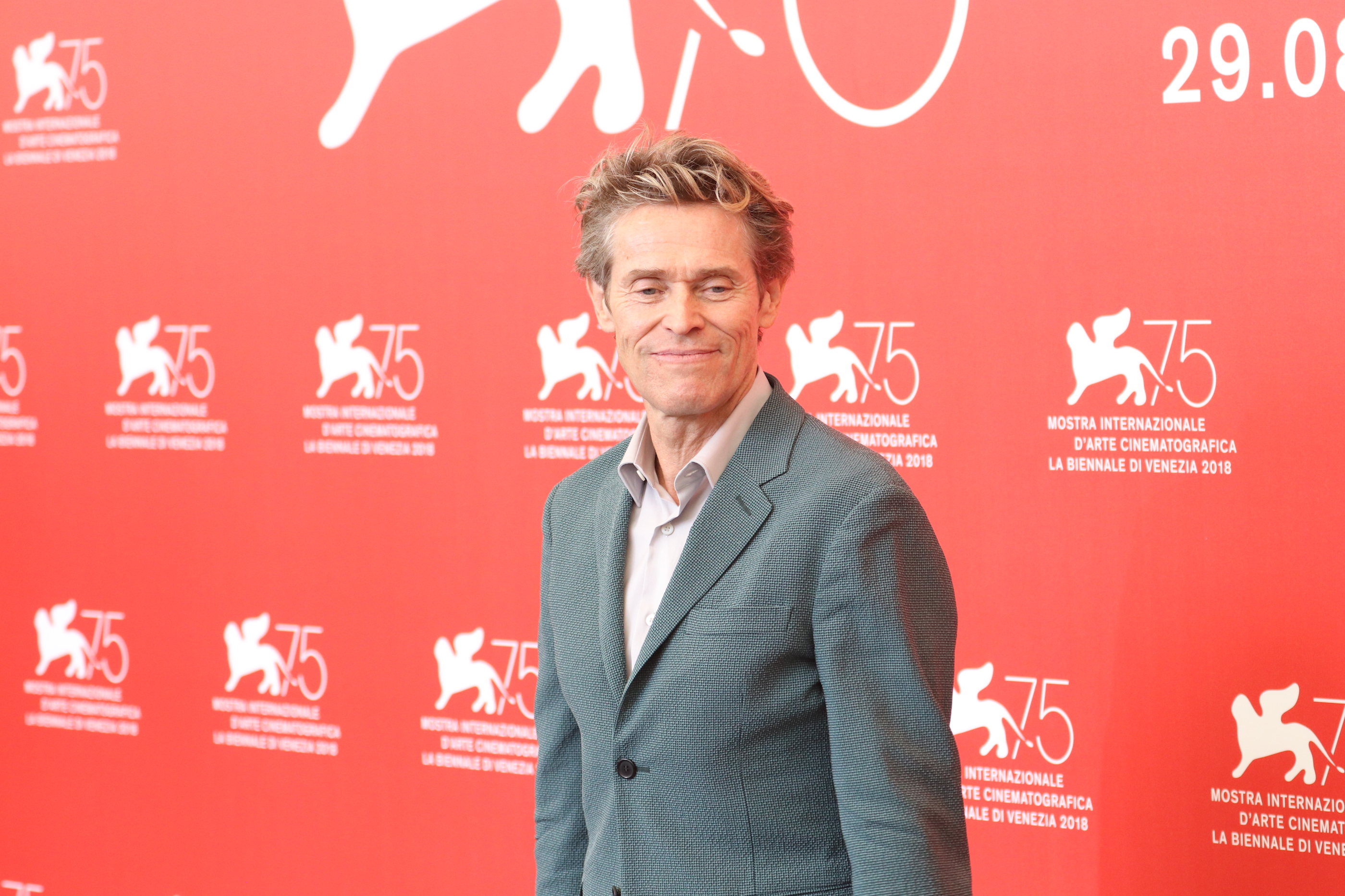 Venezia 2018: una foto di Willem Dafoe  al photocall di At Eternity's Gate