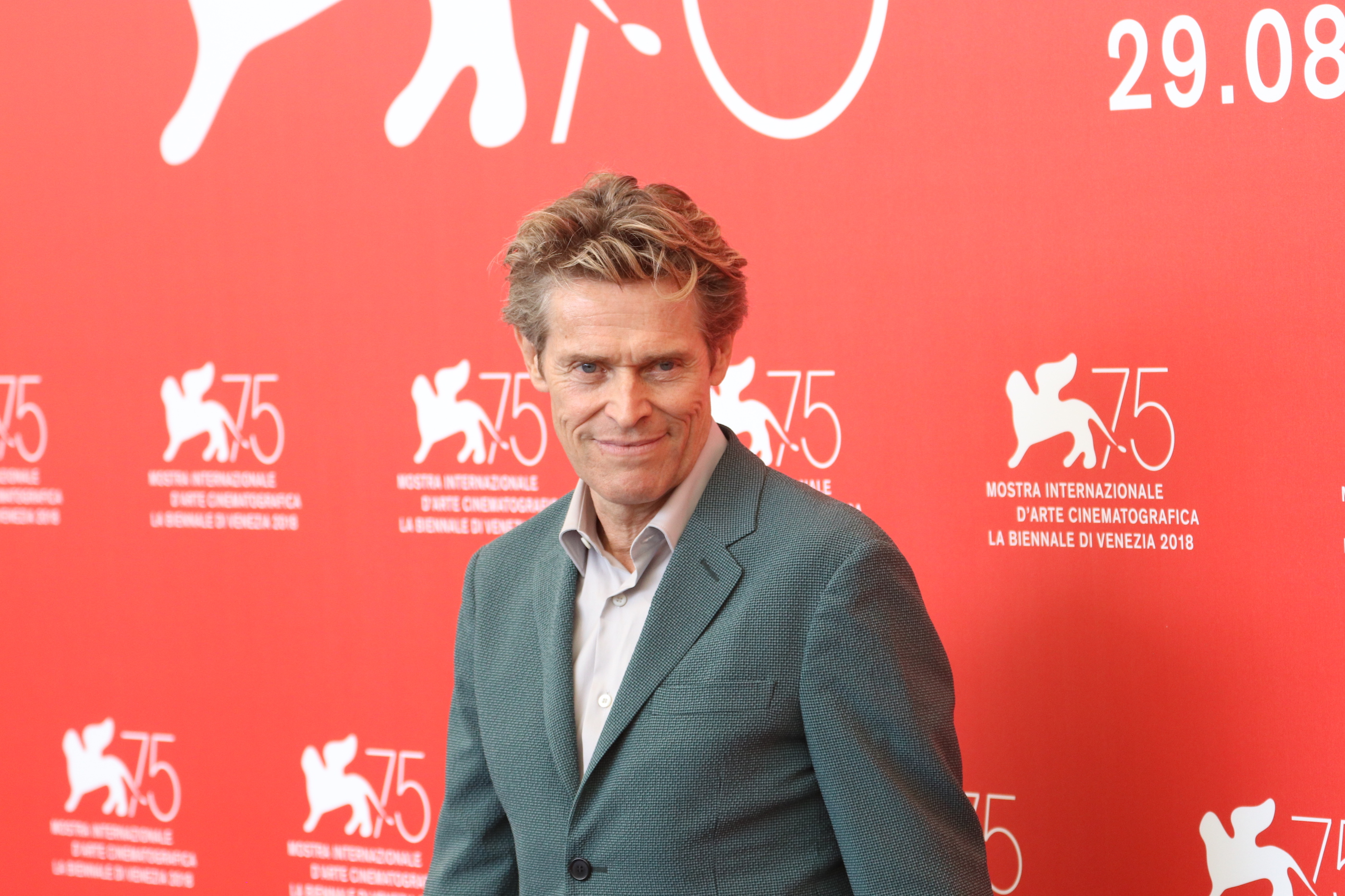 Venezia 2018: Willem Dafoe al photocall di At Eternity's Gate