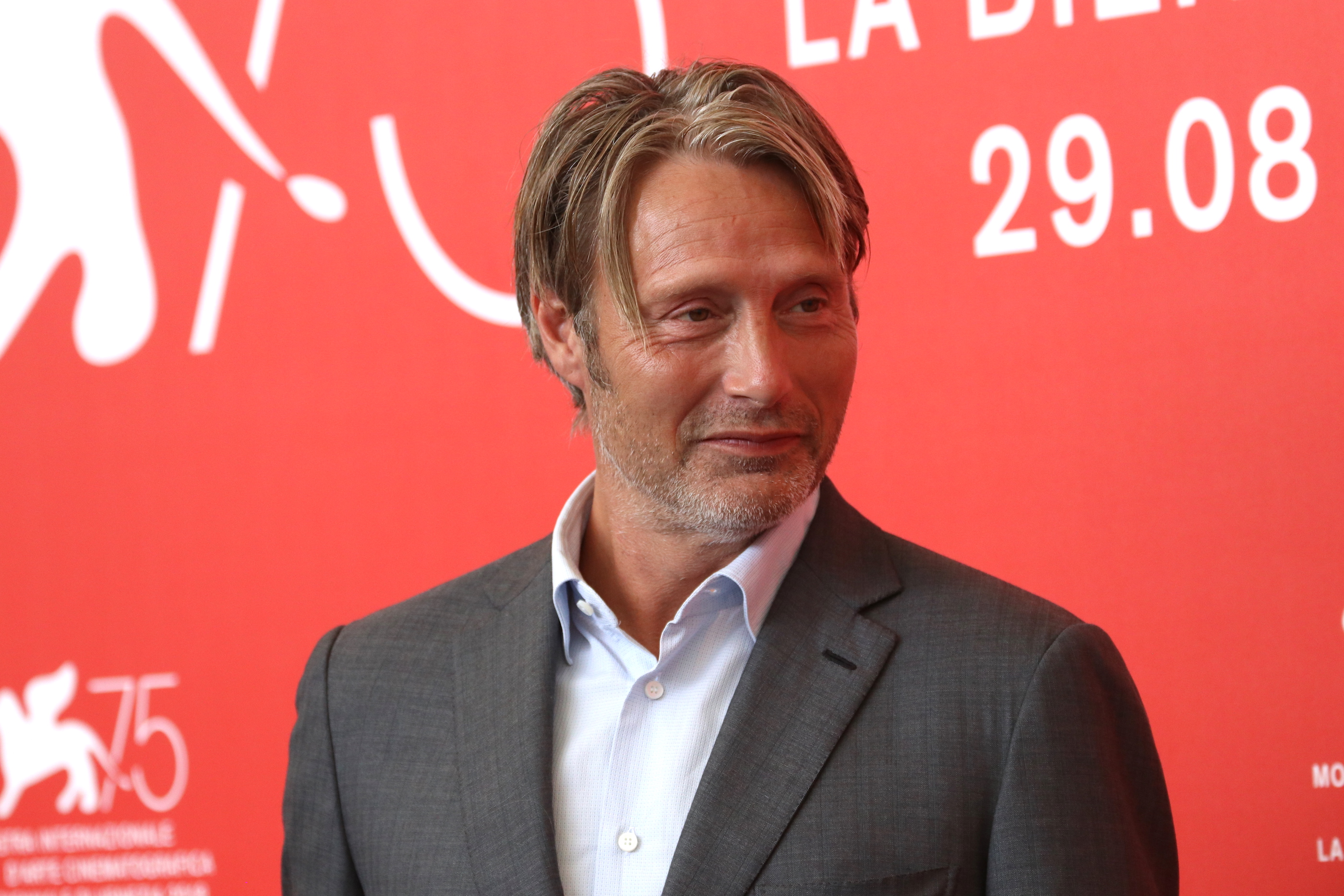 Venezia 2018: Mads Mikkelsen al photocall di At Eternity's Gate