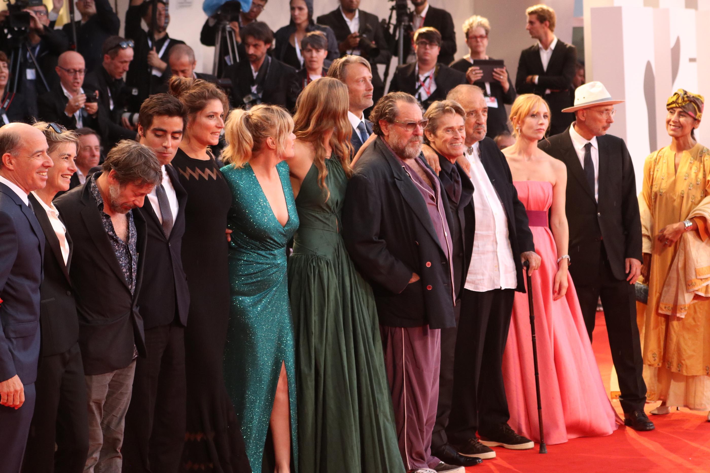 Venezia 2018: il cast sul red catpet di At Eternity's Gate
