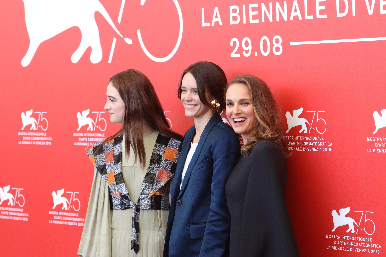 Venezia 2018: Il cast femminile al photocall di Vox Lux