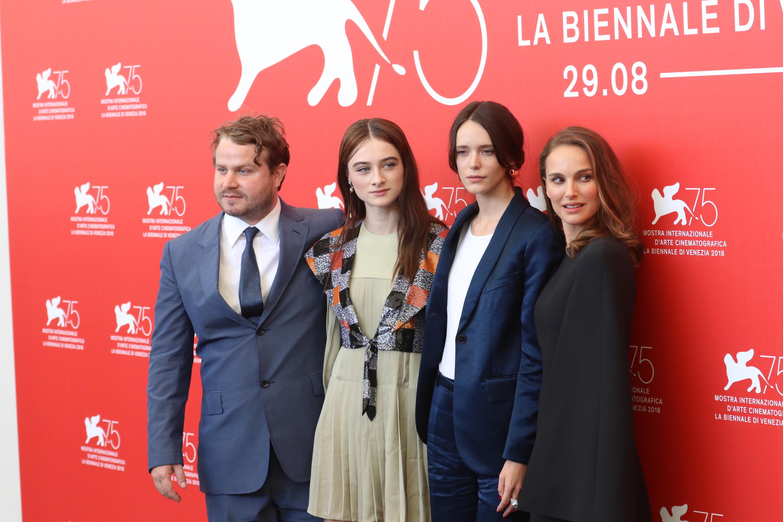 Venezia 2018: il cast al photocall di Vox Lux