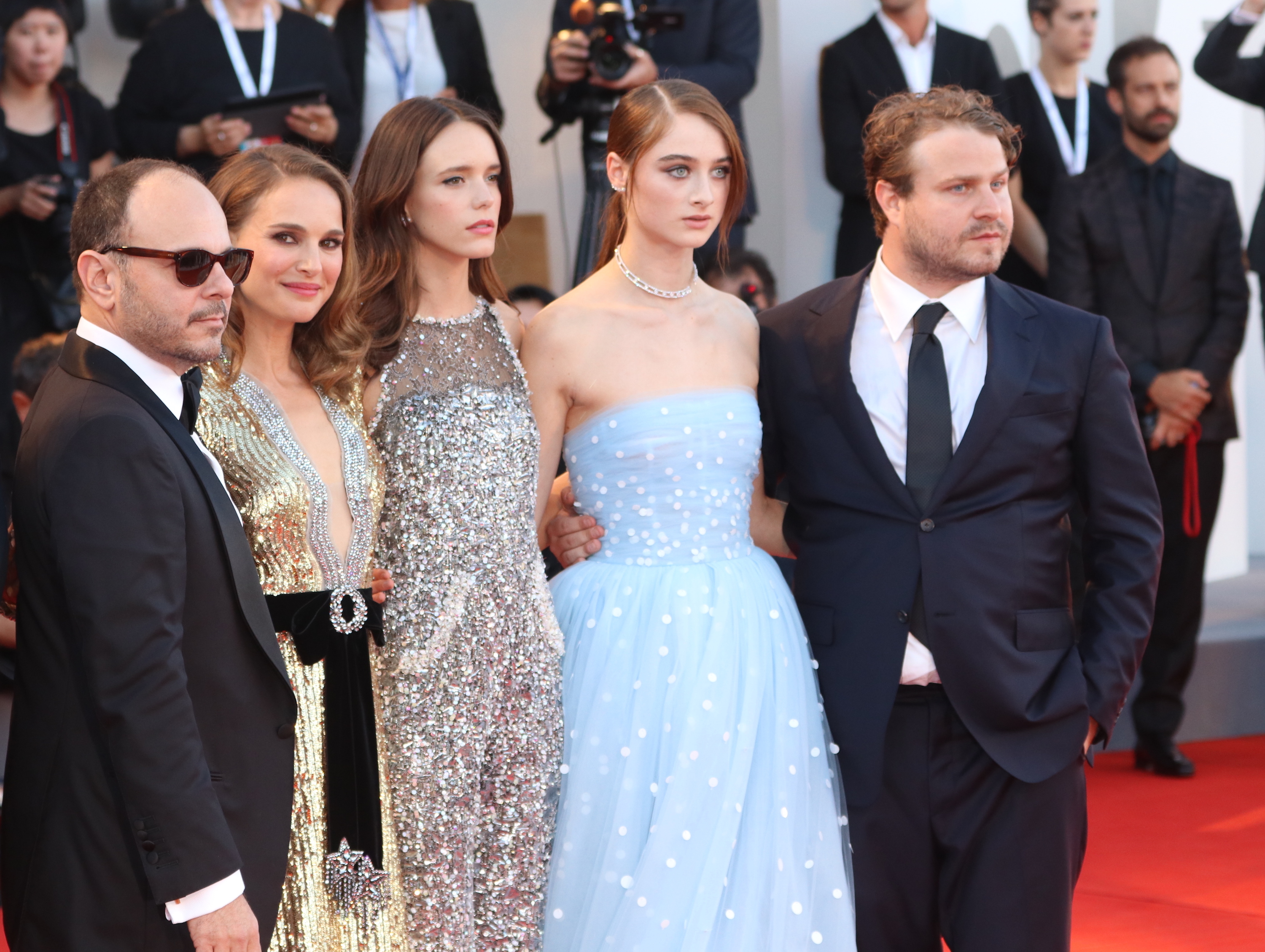 Venezia 2018: il cast sul red carpet di Vox Lux