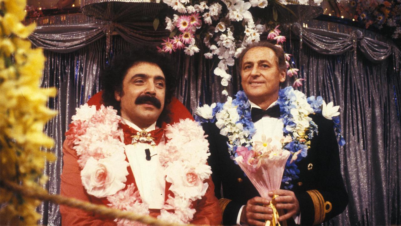 Indietro Tutta: Renzo Arbore e Nino Frassica ai tempi della trasmissione