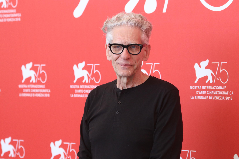 Venezia 2018: un primo piano del regista David Cronenberg Leone d'oro alla carriera