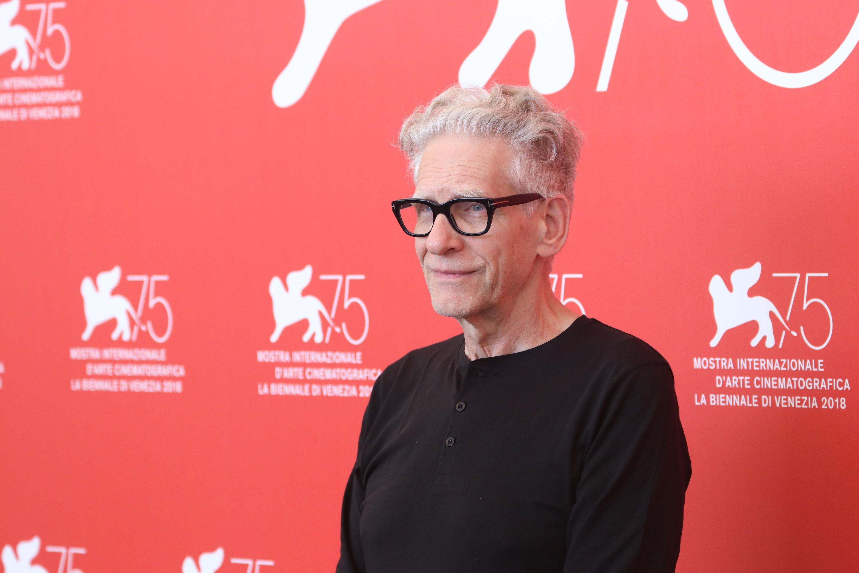 Venezia 2018: uno scatto del regista David Cronenberg Leone d'oro alla carriera