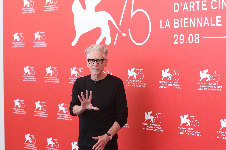 Venezia 2018: David Cronenberg Leone d'oro alla carriera