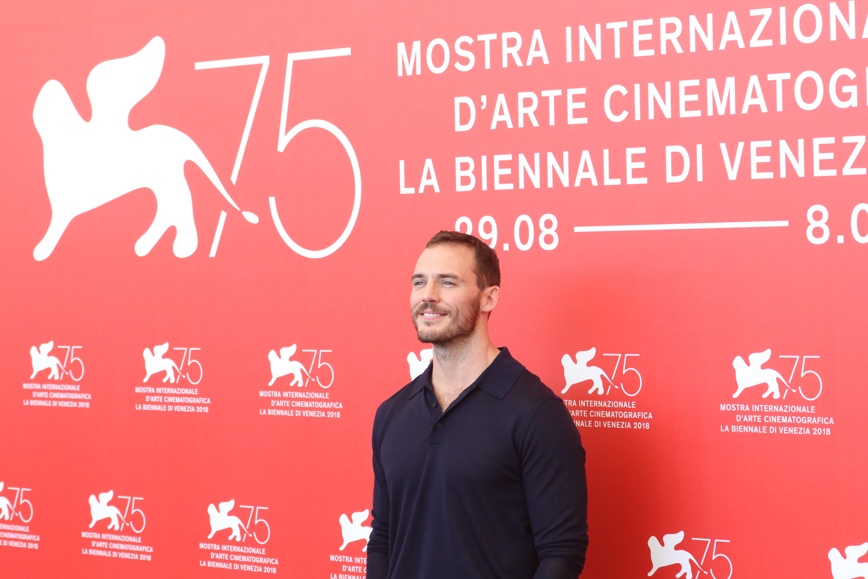 Venezia 2018: Sam Claflin al photocall di The Nightingale