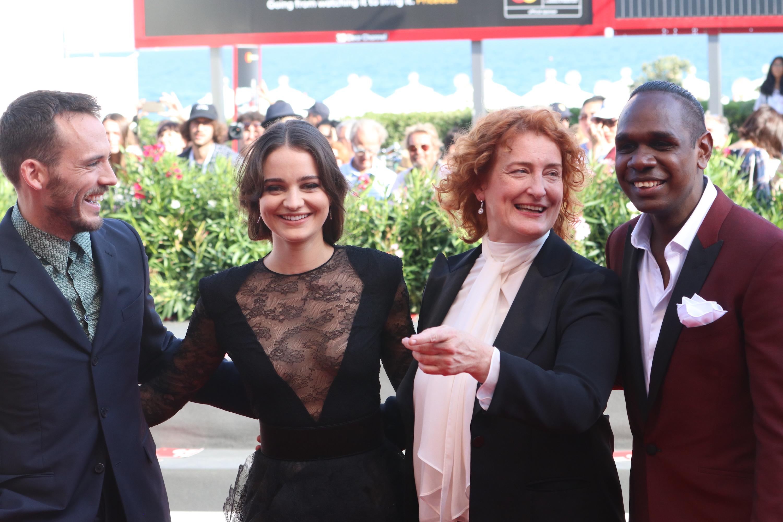Venezia 2018: il cast sul red carpet di The Nightingale