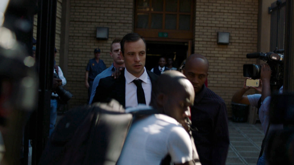 Pistorius: una sequenza del documentario