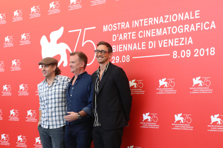 Venezia 2018: uno scatto del cast al photocall di Driven