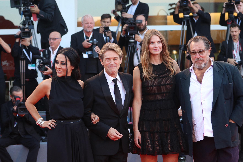 Venezia 2018: il cast di At Eternity's Gate sul red carpet di chiusura