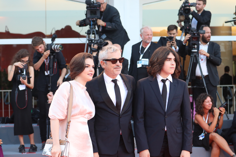Venezia 2018: Alfonso Cuarón sul red carpet di chiusura