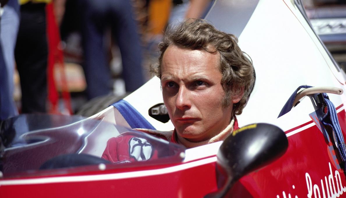 Niki Lauda in Lauda: The Untold Story