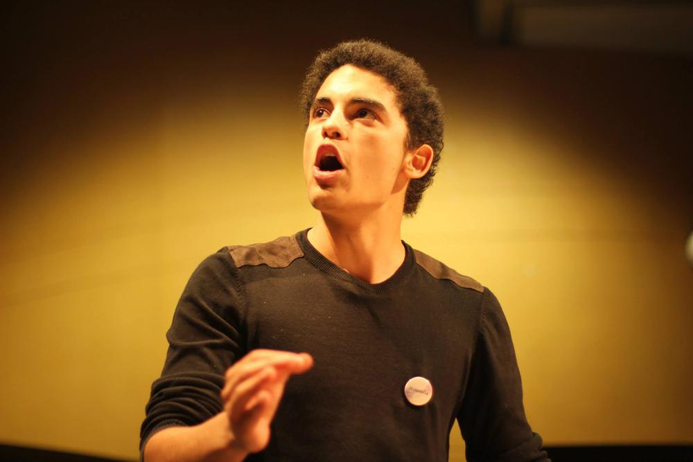 A voce alta - La forza della parola: un'immagine tratta dal film