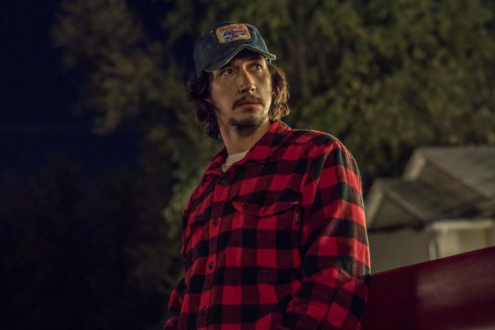 BlacKkKlansman: Adam Driver in un momento del film