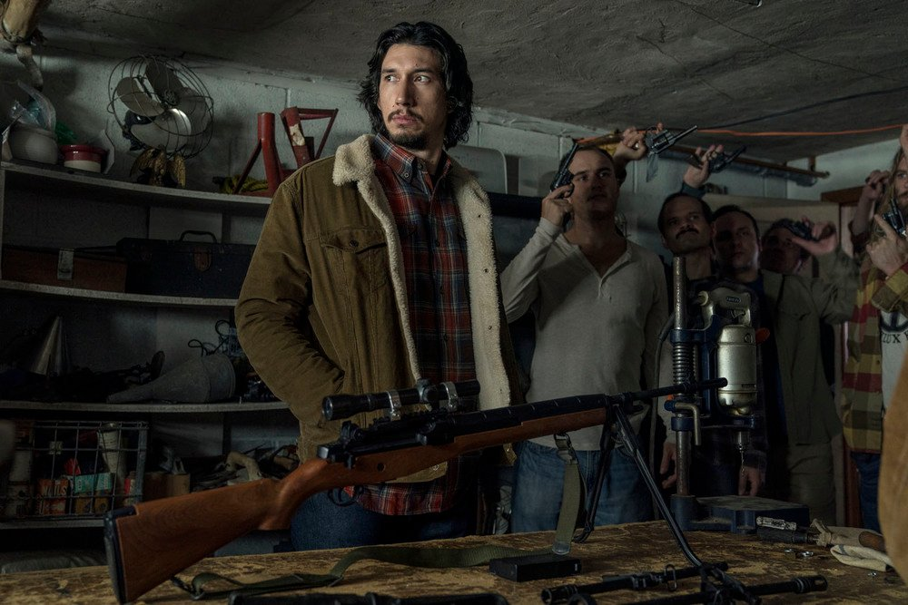 BlacKkKlansman: Adam Driver in un'immagine del film