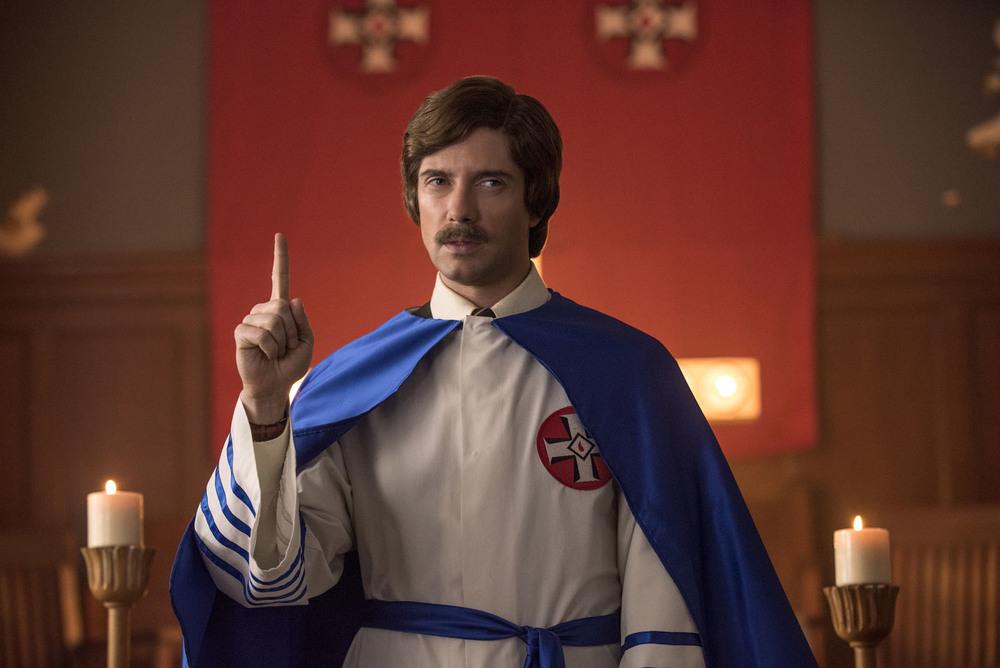 BlacKkKlansman: Ryan Eggold in una scena del film