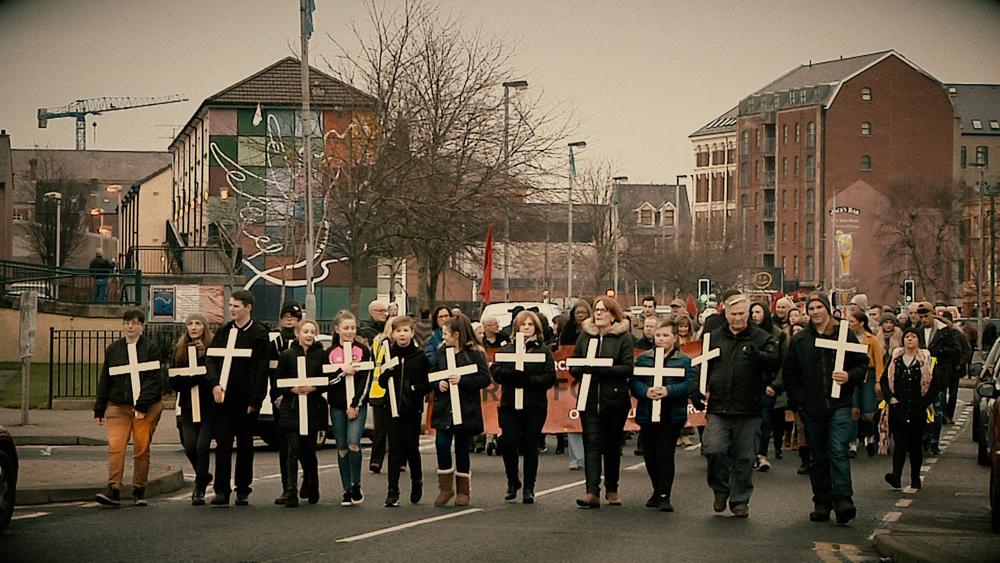 Bogside Story: un'immagine del documentario