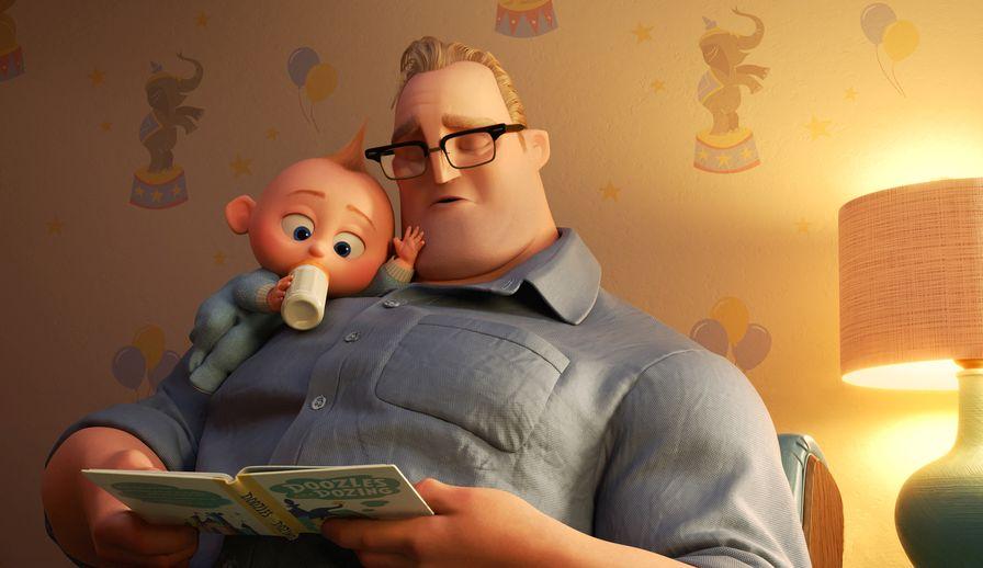 Gli incredibili 2: una scena del film animato